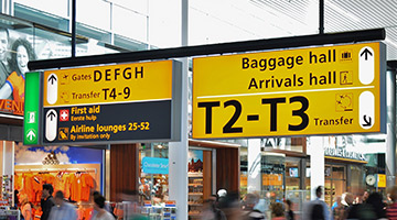 Indoor And Outdoor Wayfinding Signs