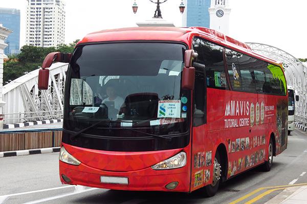 Commercial Bus Wrap