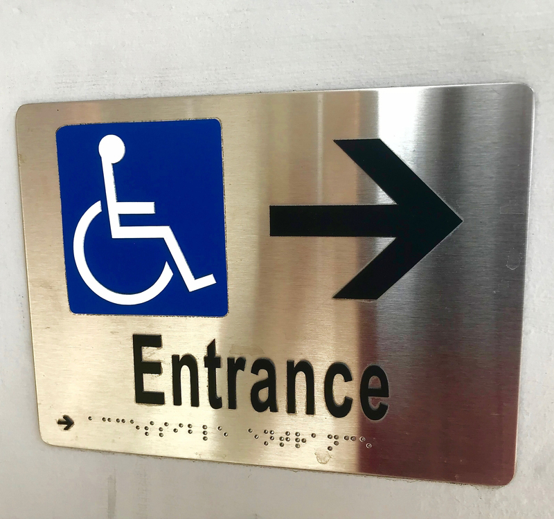 Custom ADA Compliant Signs