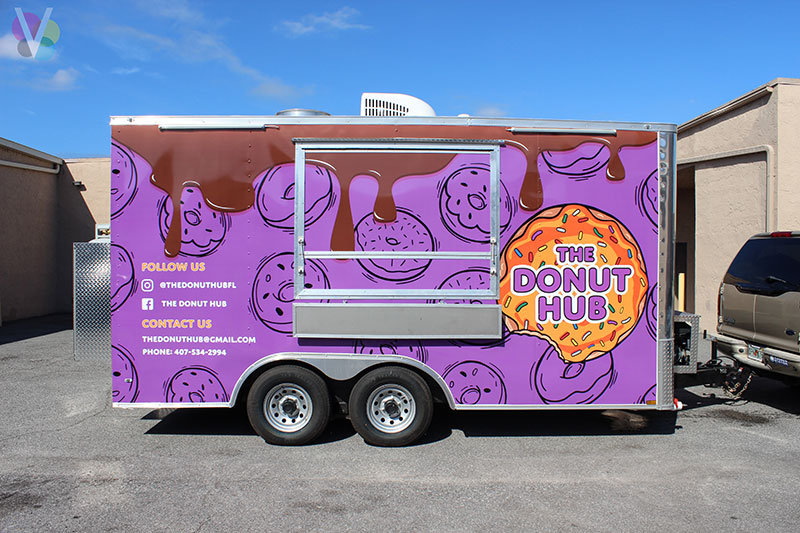 The Donut Hub Vehicle Wraps in Orlando, FL