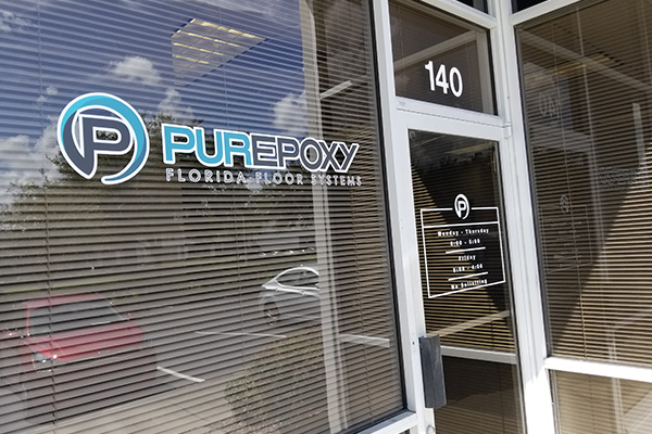 Storefront Window Graphics in Orlando, FL