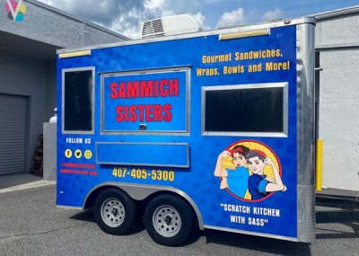 SAMMICH SISTERS Vinyl Truck Wraps by Visual Signa in Orlando, FL