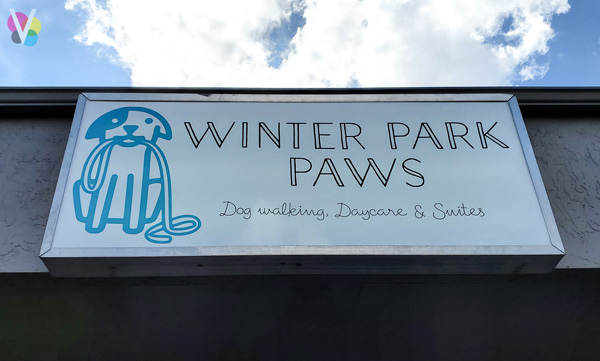 Outdoor Box Business Signs for Winter Park Paws in Orlando, FL