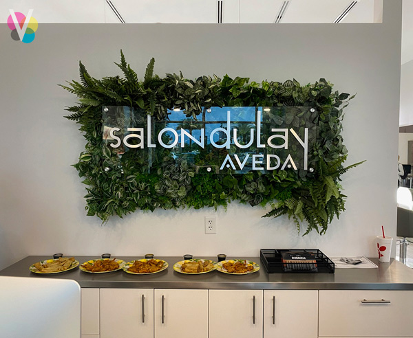 Salon Dulay AVEDA Lobby Signs in Orlando, FL