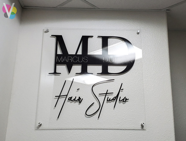 Indoor office window graphics and signs in Orlando, FL