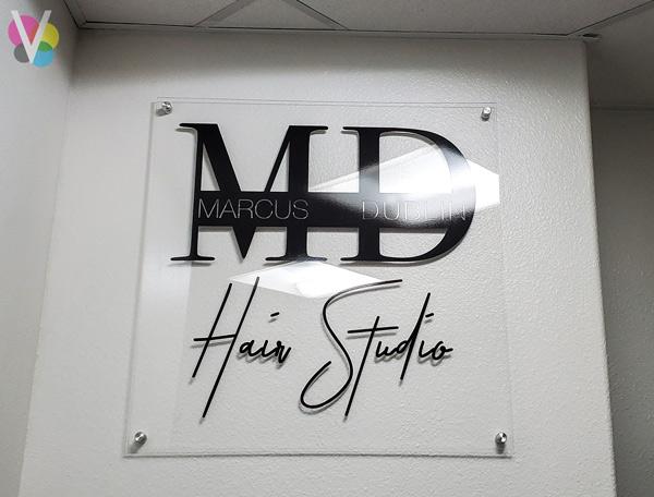 Marcus Dublin Acrylic lobby Signs in Orlando, FL