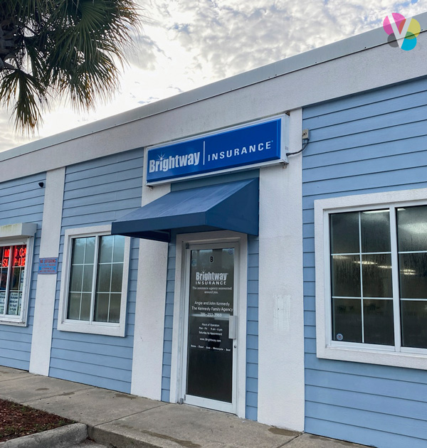 Brightway Insurance Outdoor Box Signs and Decals in Orlando, FL