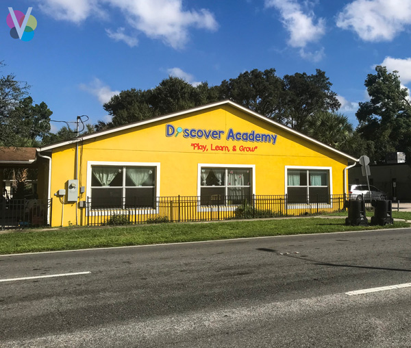 Discover Academy Exterior Signs Custom Made by Visual Signs in Orlando, FL