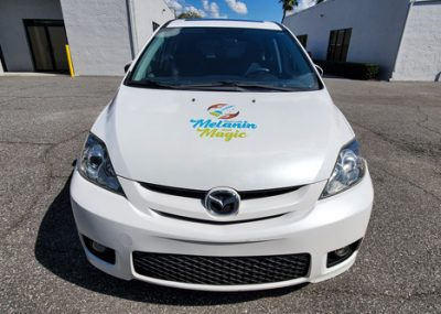 Vinyl car wraps for Melanin and Magic in Orlando, FL