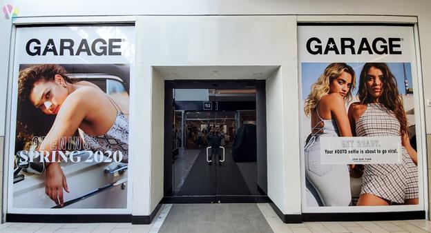 Window Graphic Advertising in Orlando, FL