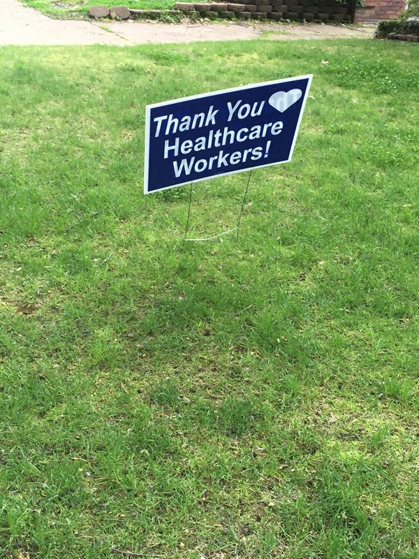 Thank You Yard Signs in Orlando, FL