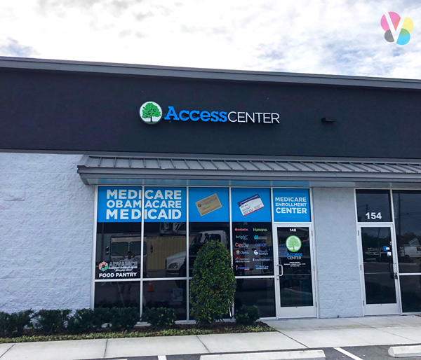 Access Center Channel Letter Signs in Orlando, FL