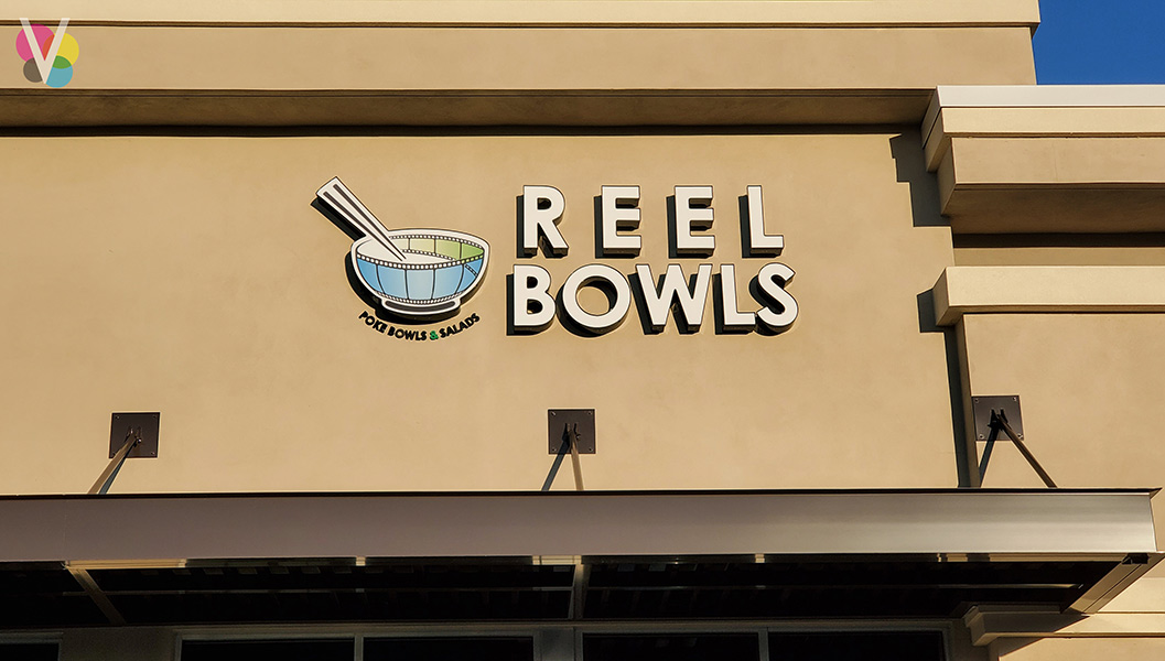 Custom Channel Letters for Reel Bows in Orlando, FL