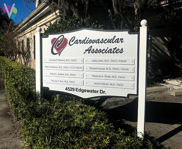 Commercial Outdoor Signs for Cardiovascular in Orlando, FL