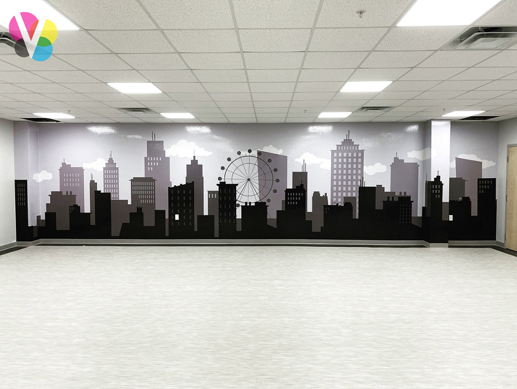 Black and White Office Wall Graphics in Orlando, FL