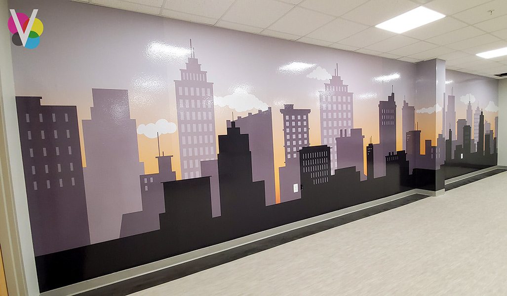 Large Wallpaper Murals for Office in Orlando, FL