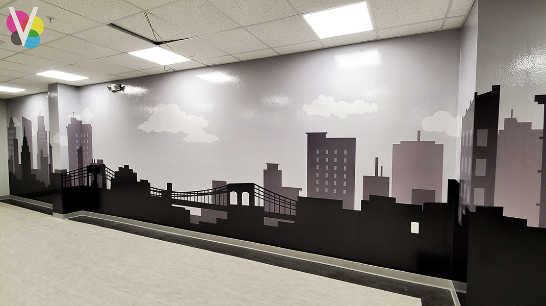 Vinyl Wall Murals Installed by Visual Signs in Orlando, FL