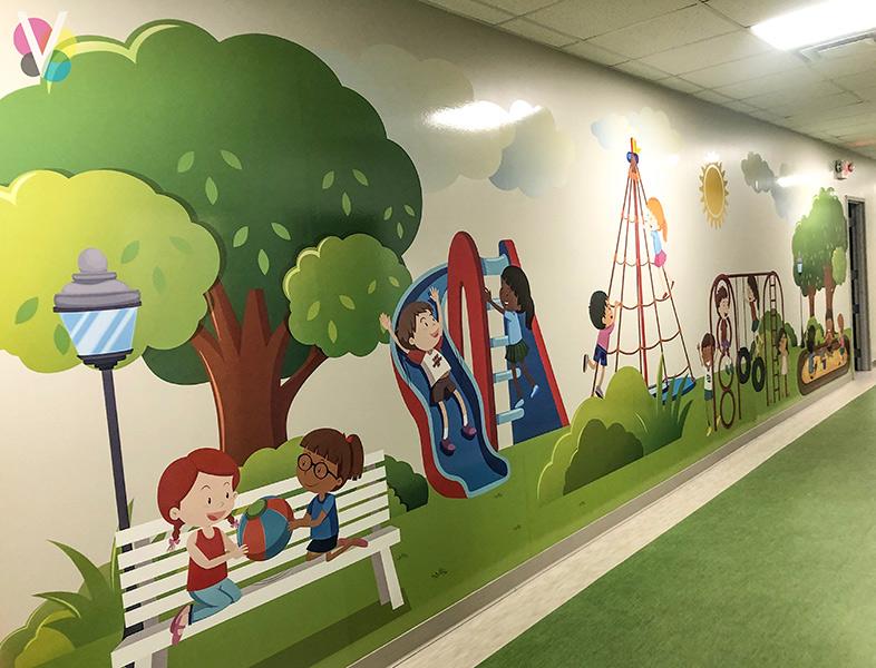 Vinyl Wall Decals for School in Orlando, FL