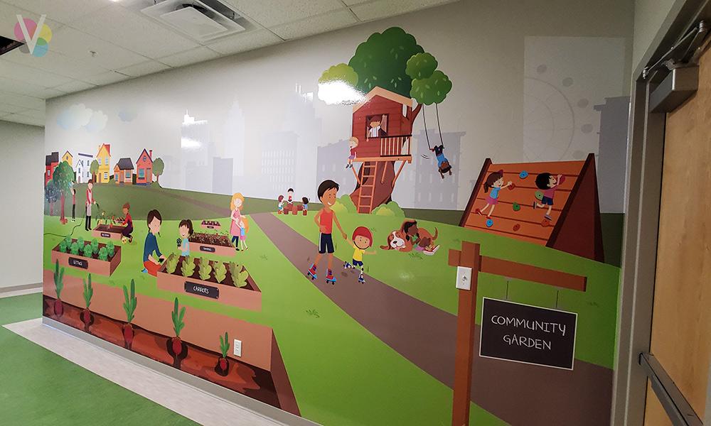 Kids School Decorative Wallpaper Murals in Orlando, FL