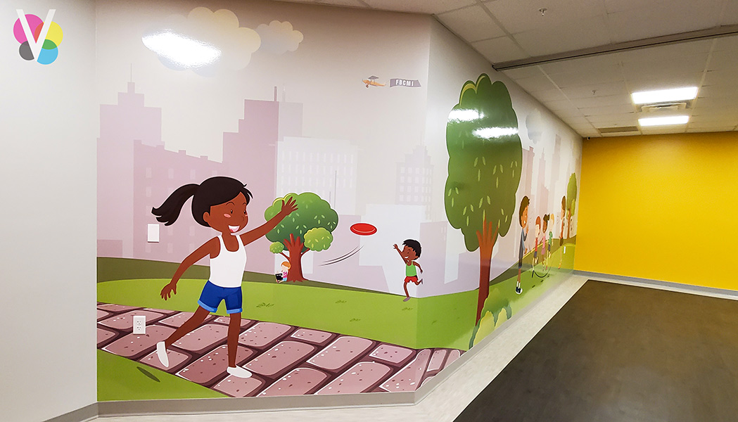 Wall Murals and Decals for School in Orlando, FL