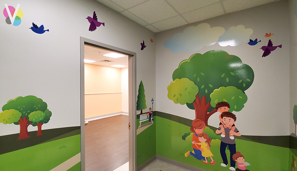 Large Wallpaper Murals by Visual Signs in Orlando, FL