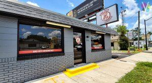Badass Sandwich Vinyl Window Graphics for Business in Orlando, FL
