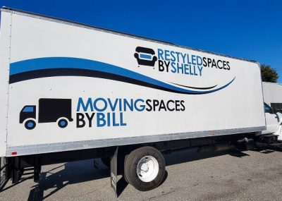 Commercial Vehicle Wraps for Moving Spaces By Bill in Orlando, FL