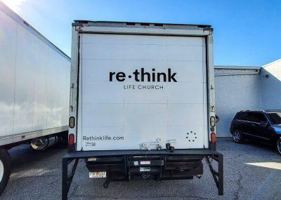 Large Box Vehicle Graphics in Orlando, FL