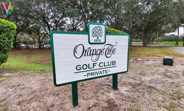 Orange Tree Custom Monument Signs in Orlando, FL