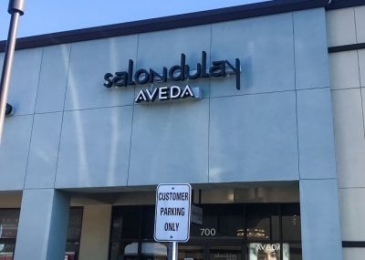 Aveda Large Storefront Signs in Orlando, FL
