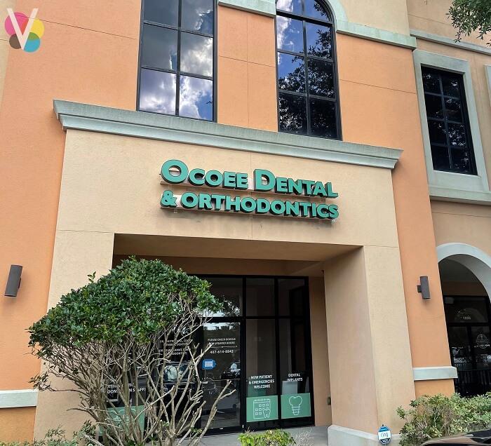 Storefront Channel Letters for Ocoee Dental & Orthodontics in Orlando, FL