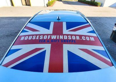 Custom Rear Car Window Decals in Orlando, FL