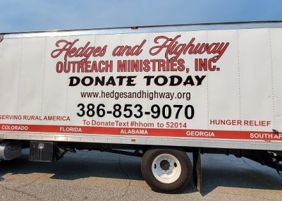 Large Vinyl Truck Wraps for Business in Orlando, FL